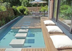 Superb Small Outdoor Pool   Happy Slate