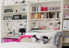 teenage bedroom storage ideas
