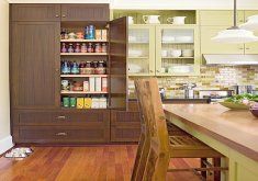 Wonderful Pantry In Kitchen Design   Quick And Cohesive