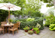 Wonderful Small Gardening   Patio Garden